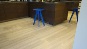 Silver Serpegiante Flooring at Italian Kitchen Showroom, Bangalore (17)